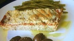 Terrina di patate, tonno e pomodoro fresco
