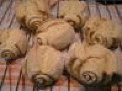 Pane giallo a forma di mantovanine