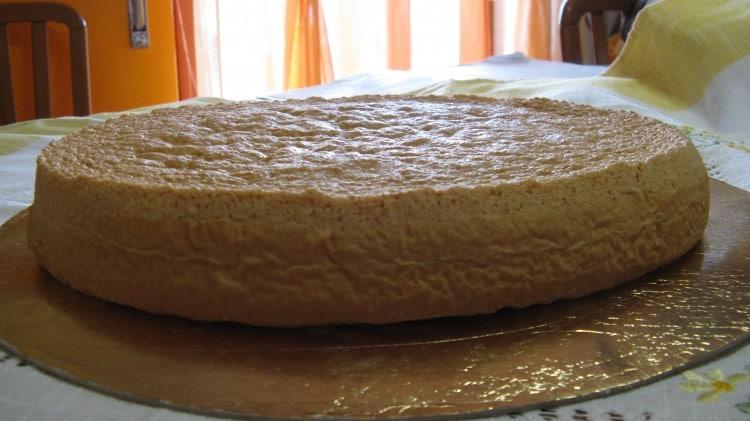 Pan di spagna senza lievito