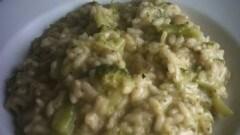 Risotto ai broccoletti e porri al profumo di rosmarino