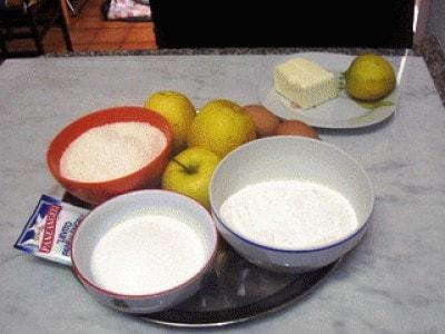 Torta soffice di cocco e mele