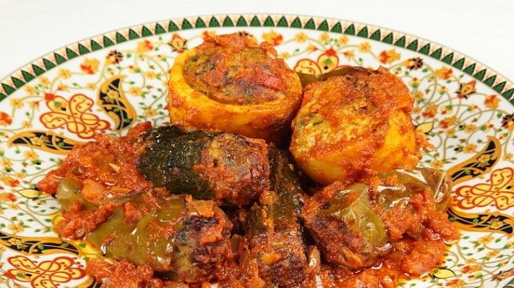 Mehchi - verdure ripiene tunisine