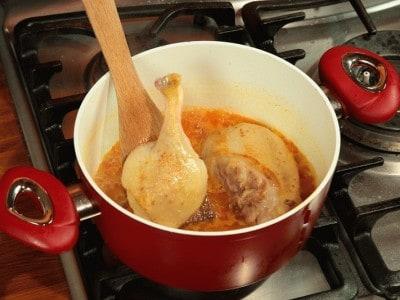 Anatra in salsa di cannella e agrumi