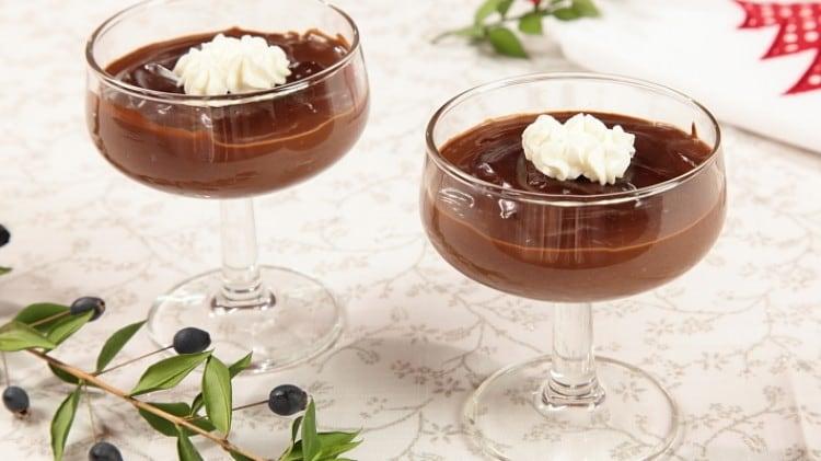 Budino al doppio cioccolato