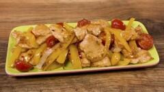 Filetti di pollo piccante ai peperoni