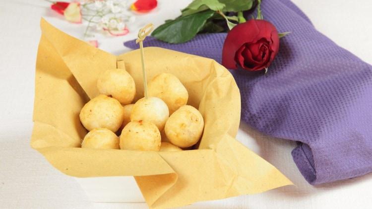Palline di pane con ripieno a sorpresa