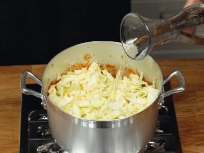 Zuppetta verza e fagioli