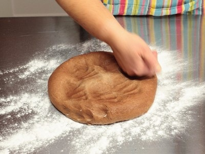 Doughnut al cioccolato al forno