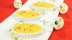 Barchette d'agnello cacio e uova