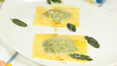 Tortelli di magro burro e salvia