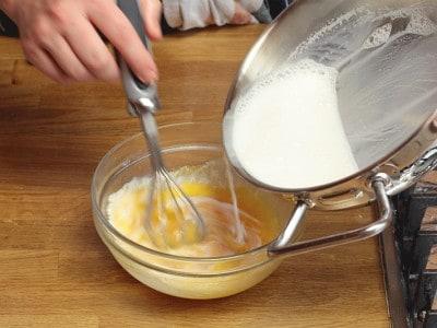 Strudel al latte e mascarpone
