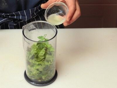 Carpaccio di polpo, patate e salsa verde