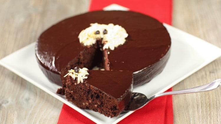 Torte Da Credenza Al Cioccolato : Torta al cioccolato glassata ricette dolci cookaround