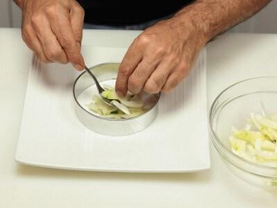 Carpaccio di spigola agli agrumi