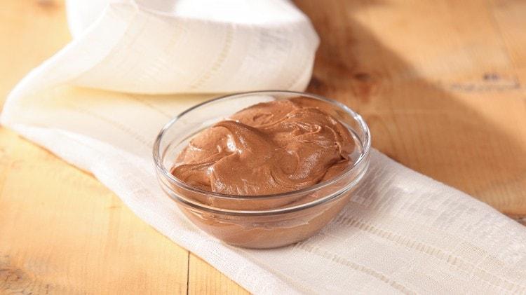 Copertura cremosa al cioccolato