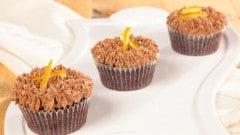 Cupcakes ciocco-arancia