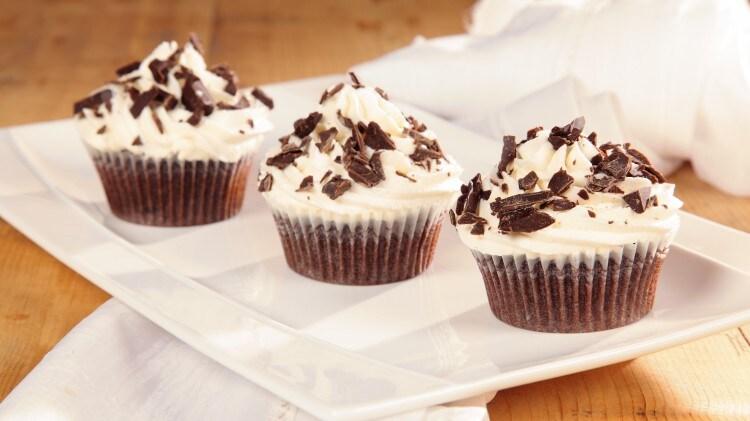 Cupcakes alle gocce di cioccolato e mascarpone