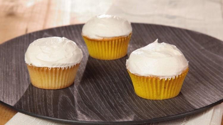 Cupcakes al limone glassati