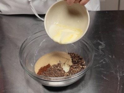 Cheesecake al latte macchiato