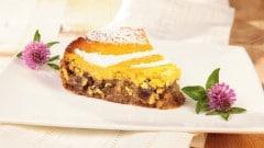 Cheesecake rum e uvetta