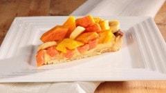 Crostata ai frutti tropicali