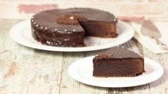 Torta morbida al cioccolato fondente
