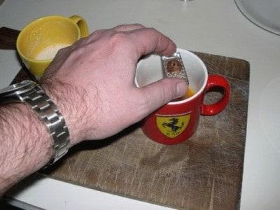 Frittata di bianchetti