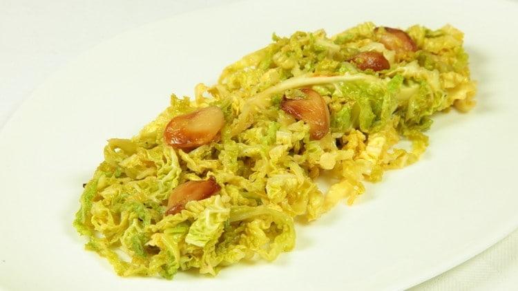 Cavolo verde alla brasiliana
