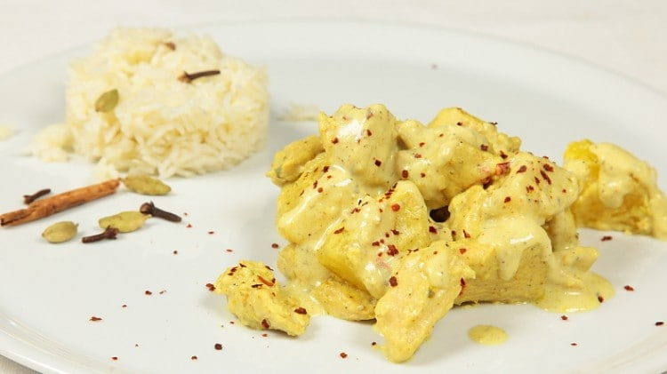 Pollo al curry dello studente