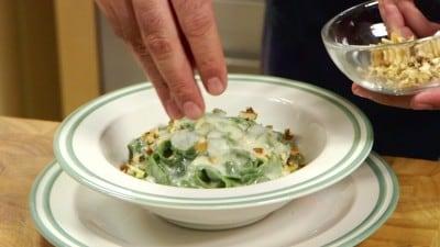 Tagliatelle gorgonzola e noci