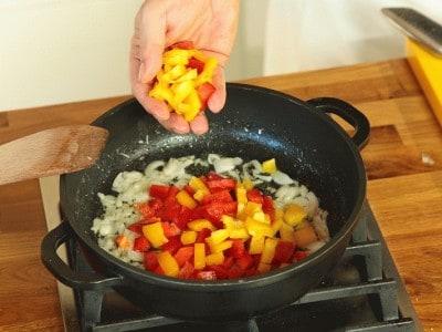 Risotto ai peperoni