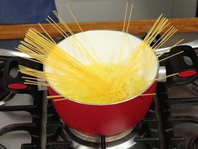 Zuppa di pasta al tamari