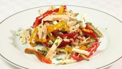 Tacchino in insalata