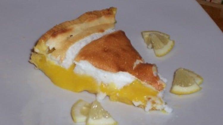 Crostata meringata con crema al limone