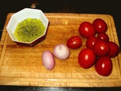 Sarago al forno con gamberetti e vongole