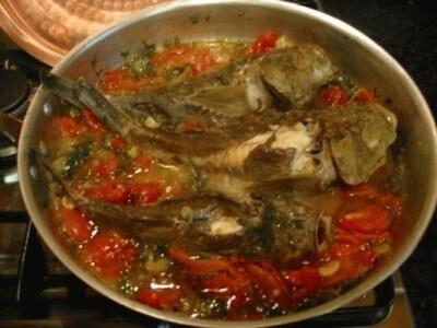 Pesce prete al finocchietto e basilico