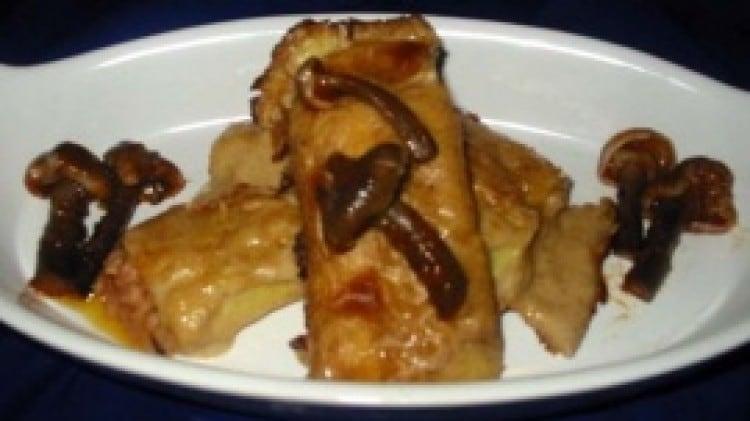 Cannelloni al ragù di carne profumati ai chiodini