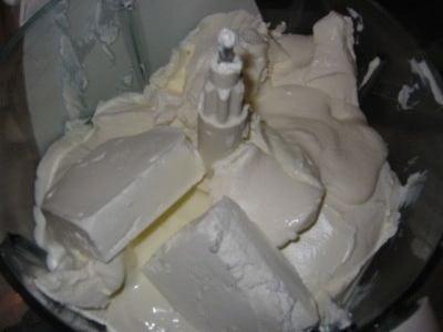 Cheesecake alle pere