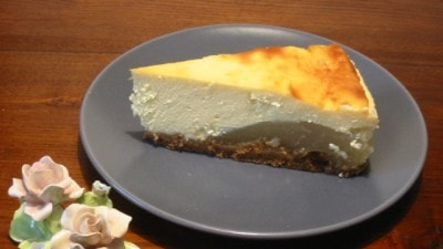 Cheesecake alle pere