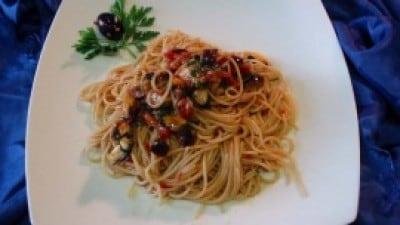 Spaghetti chi cuzzuli niuri i Ganzirri