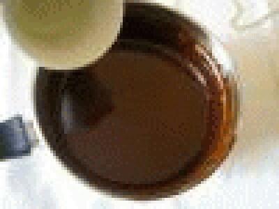 Mousse di cioccolato al rum
