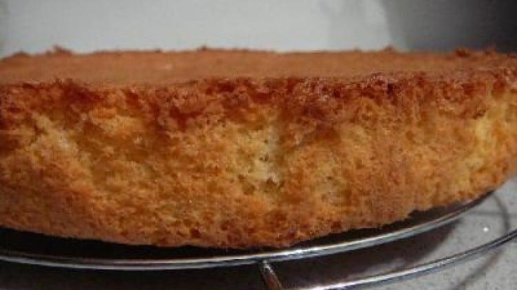 Pan di spagna al cocco