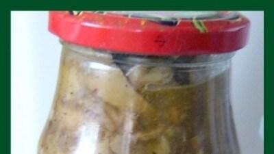 Conserva di funghi misti