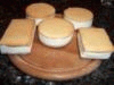 Biscotti gelato alla panna