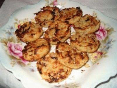 Rosti di patate al forno