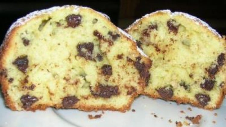 Muffins alla banana e gocce di cioccolato