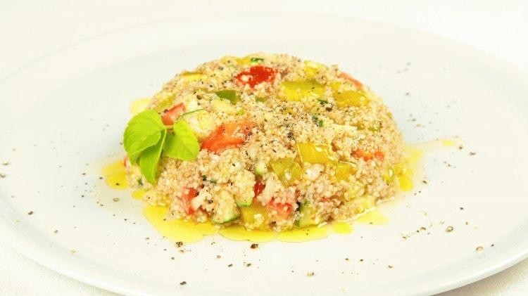 Tabuleh con verdure