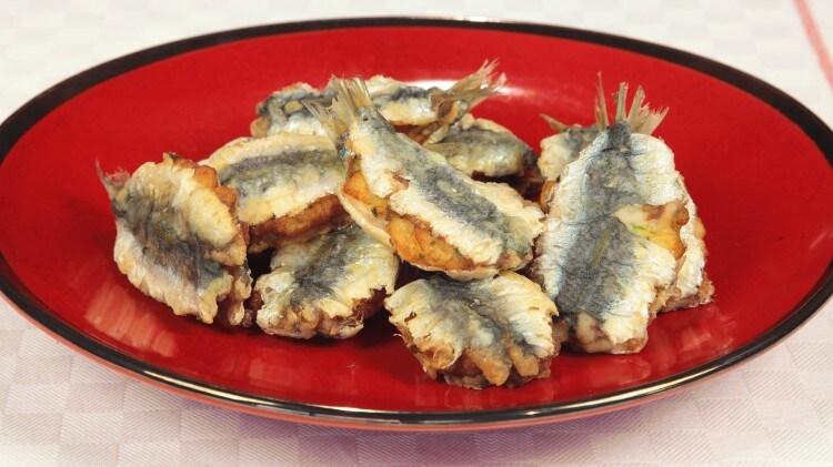 Sardine alle patate e paprika