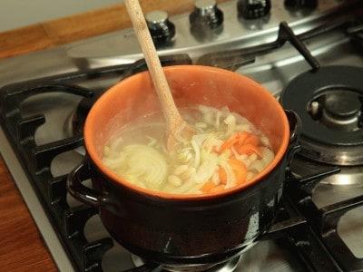 Zuppa di fagioli stile monastero