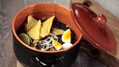Sopa de Frijoles Negros - Zuppa di fagioli neri
